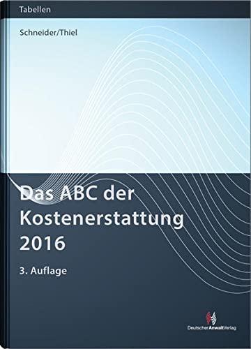 Das ABC der Kostenerstattung 2016: Norbert Schneider