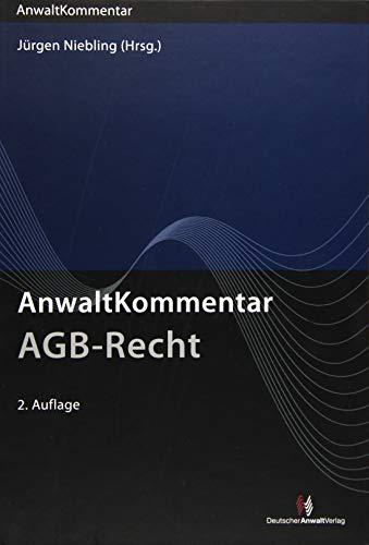AnwaltKommentar AGB-Recht: Jürgen Niebling