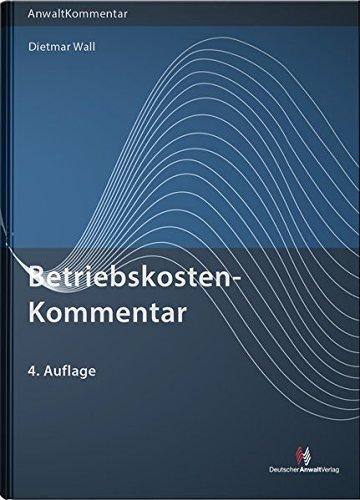 BetriebskostenKommentar: Dietmar Wall