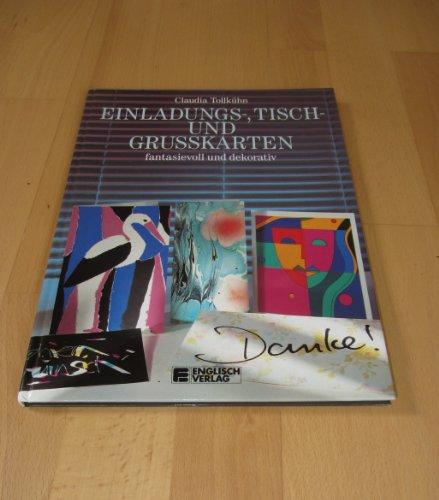 9783824103911: Einladungs-, Tisch- und Grusskarten. Phantasievoll und dekorativ