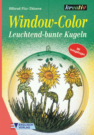 9783824109708: Window-Color. Leuchtend-bunte Kugeln