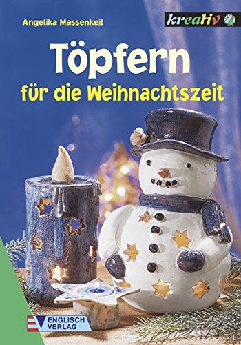 9783824110919: T�pfern f�r die Weihnachtszeit