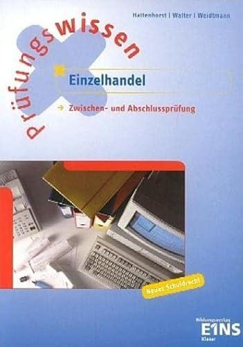 9783824201419: Prüfungswissen Einzelhandel. Schülerband. (Lernmaterialien)