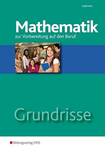 9783824203833: Grundrisse Mathematik: zur Vorbereitung auf den Beruf Arbeitsheft