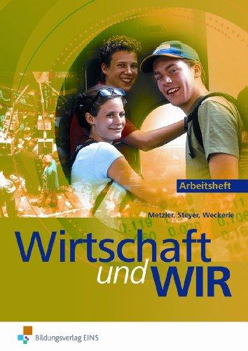 9783824236787: Wirtschaft und wir, Ausgabe für Baden-Württemberg, Arbeitsblätter