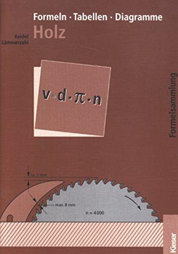 Formeln - Tabellen - Diagramme Holz. Formelsammlung: Wolfgang Keidel, Hubert