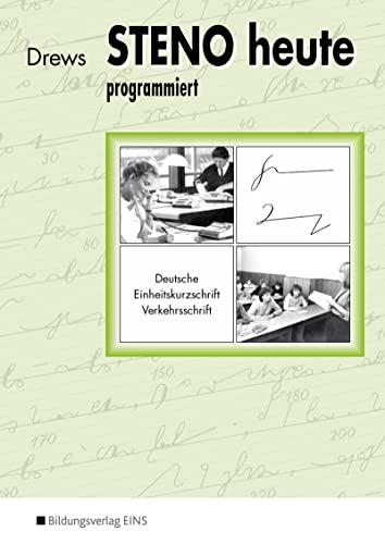 9783824261062: Steno heute - programmiert.