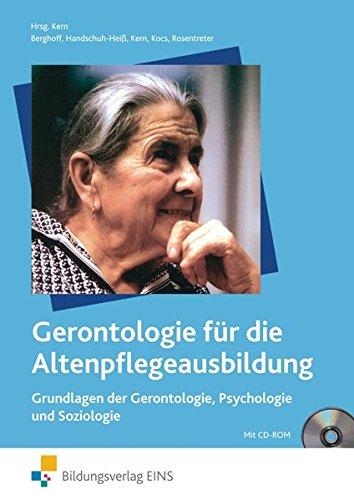 9783824266029: Gerontologie/Altenpflege1/Grundl./m.CD