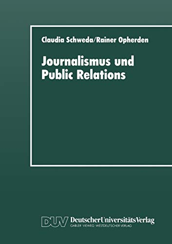 Journalismus und Public Relations: Claudia Schweda