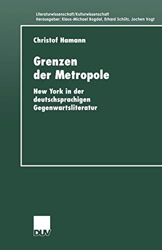 Grenzen Der Metropole: Christof Hamann