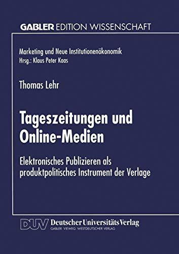 Tageszeitungen und Online-Medien: Thomas Lehr