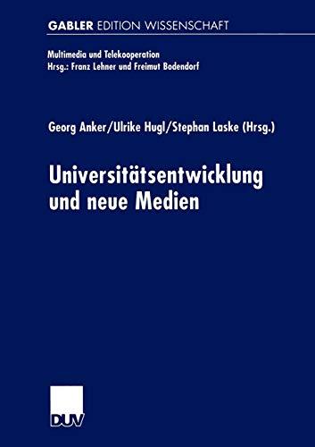 9783824473298: Universitäts-entwicklung und neue Medien (Multimedia und Telekooperation)