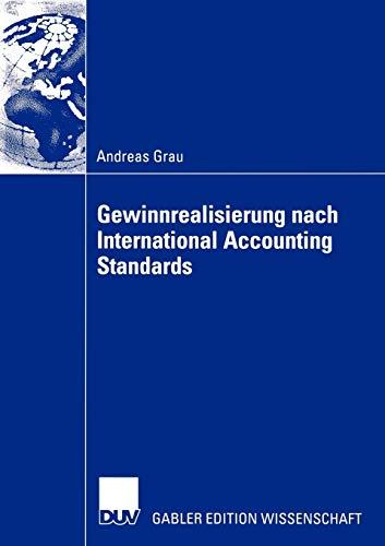 9783824477050: Gewinnrealisierung nach International Accounting Standards