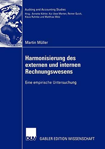9783824477845: Harmonisierung des internen und externen Rechnungswesens: Eine empirische Untersuchung (Rechnungswesen und Controlling) (German Edition)