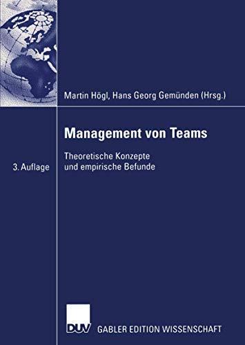 9783824482955: Management von Teams: Theoretische Konzepte und empirische Befunde