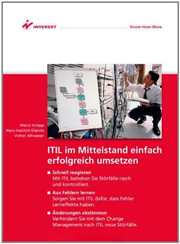 9783824587124: ITIL im Mittelstand einfach erfolgreich umsetzen