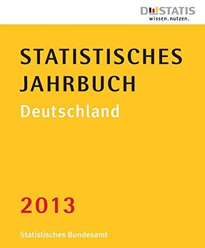 9783824610075: Statistisches Jahrbuch Deutschland 2013