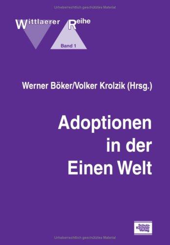 9783824803019: Adoptionen in der Einen Welt