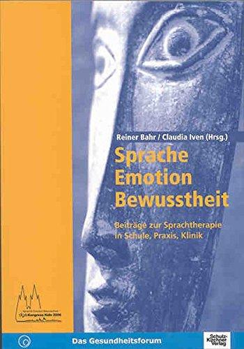 9783824803248: Sprache-Emotion-Bewusstheit