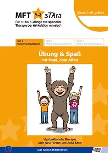 9783824810031: MFT 4-8 Stars - Für 4- bis 8-Jährige mit spezieller Therapie der Artikulation von s/sch - Übung & Spaß mit Muki, dem Affen: Heft 1: Mukis Mundspaßspiele