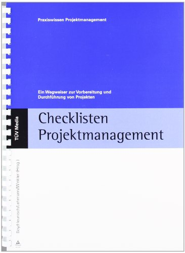 9783824903832: Checklisten Projektmanagement