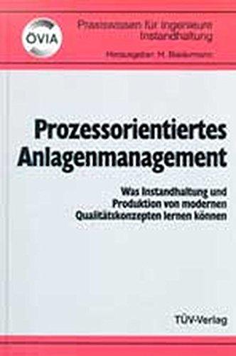 9783824907250: Prozessorientiertes Anlagenmanagement