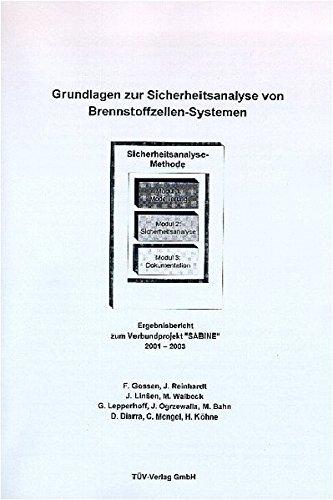 Grundlagen zur Sicherheitsanalyse von Brennstoffzellen-Systemen: F Gossen