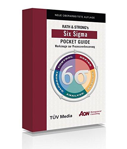 9783824910571: Rath und Strongs Six Sigma Pocket Guide: Werkzeuge zur Prozessverbesserung