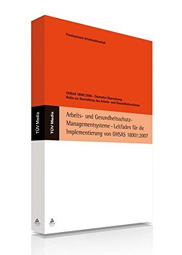 OHSAS 18002:2008 - Deutsche Übersetzung: Gerd Reinartz