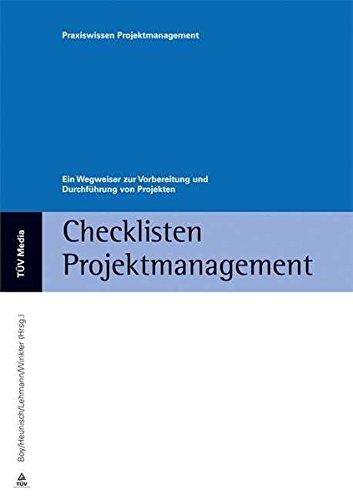 9783824917389: Checklisten Projektmanagement