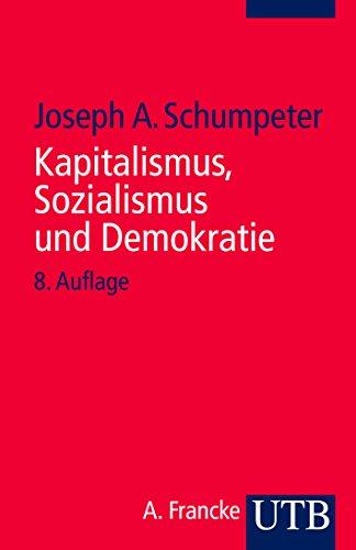 9783825201722: Kapitalismus, Sozialismus und Demokratie
