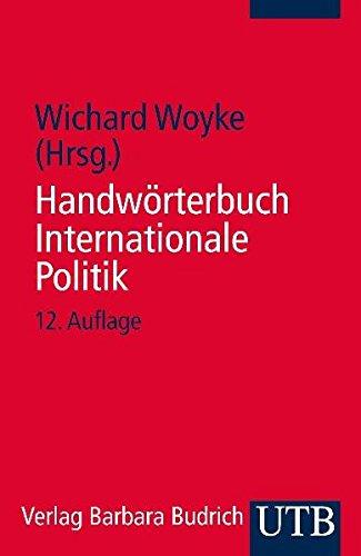 9783825207021: Handwörterbuch Internationale Politik.