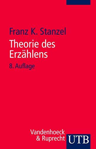 9783825209049: Theorie Des Erzahlens