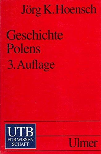 9783825212513: Geschichte Polens.