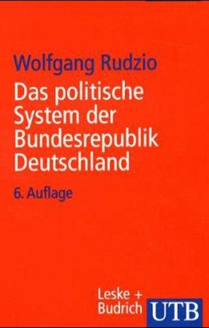 9783825212803: Politische System Der Bundesrepublik Deutschland