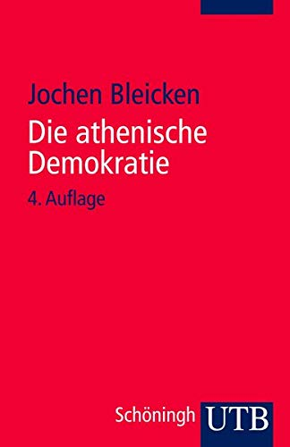 9783825213305: Die athenische Demokratie