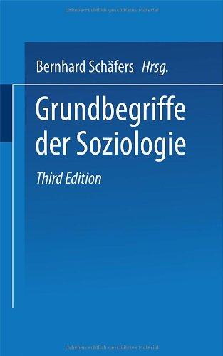 9783825214166: Grundbegriffe der Soziologie.