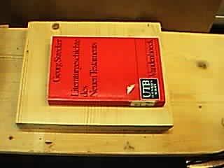 9783825216825: Literaturgeschichte des Neuen Testaments