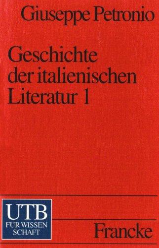 9783825216986: Geschichte der italienischen Literatur