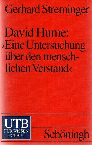 9783825218256: David Hume