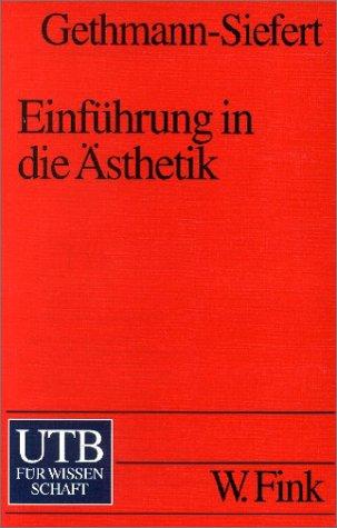 9783825218751: Einführung in die Ästhetik