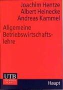 9783825220402: Allgemeine Betriebswirtschaftslehre. Aus Sicht des Managements.