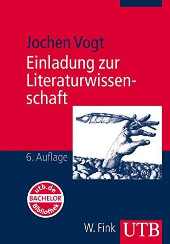 9783825220723: Einladung zur Literaturwissenschaft: Mit einem Vertiefungsprogramm im Internet. (Studienb�cher Literatur und Medien)