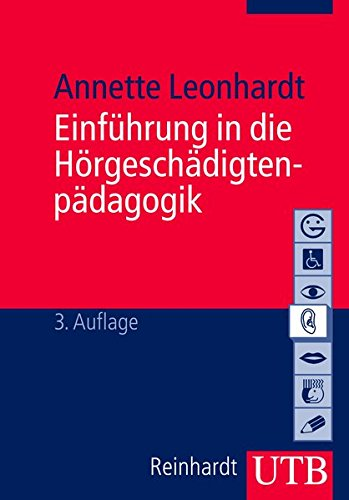 9783825221041: Leonhardt, A: Hörgeschädigtenpäd.