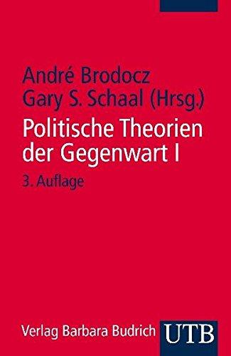 9783825222185: Politische Theorien der Gegenwart 1: Eine Einführung