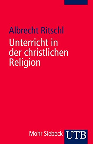 9783825223113: Unterricht in der christlichen Religion.