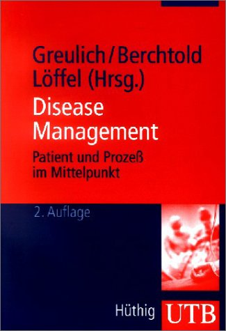 9783825223656: Disease Management.