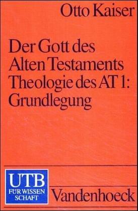 9783825224288: Der Gott des Alten Testaments Bd. 1-3