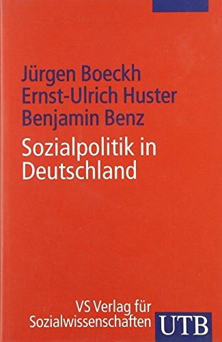 9783825225582: Sozialpolitik in Deutschland. Eine systematische Einführung