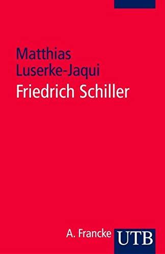 9783825225957: Friedrich Schiller.